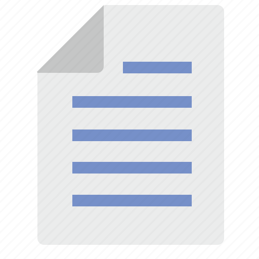 a4, doc, document, list, paper, text icon