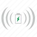 charge, electric, element, mobile, technology, wireless icon