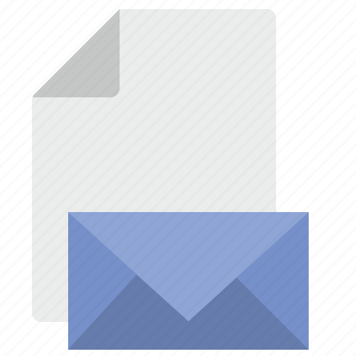 doc, document, file, letter, mail, message icon