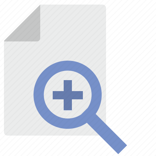 doc, document, file, loop, plus, scale icon