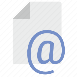 doc, document, email, file, letter, mail icon
