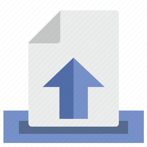 doc, document, file, letter, mail, message, outcome icon