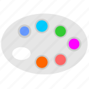 choose, color, pallette, pattern icon