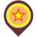 candy, food, location, place, pointer icon