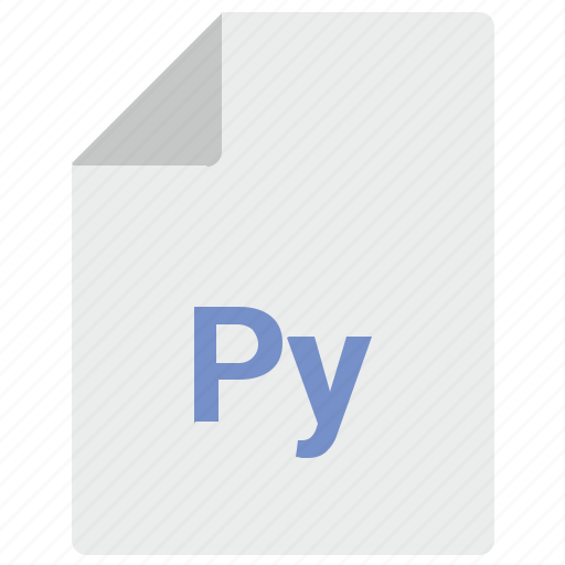 doc, document, file, language, py, russian icon