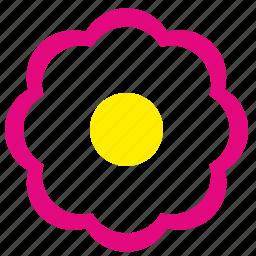 bud, flower, plant, rowan icon