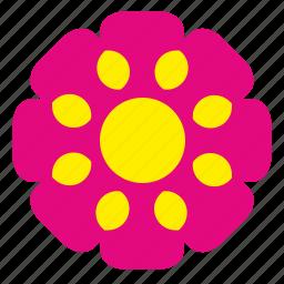 bud, flower, plant, red, rowan icon