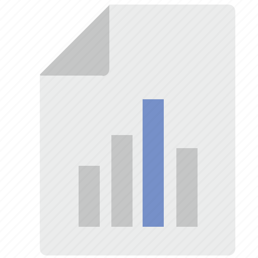 chart, document, economic, report, statistics icon