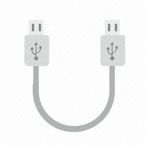 cable, charge, data, mini, mobile, port, usb icon