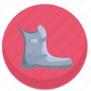 boot, dress, footwear, go, shoe, woman icon