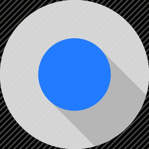circle, round, shape icon