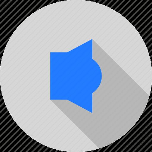audio, louder, music, player, sound, speaker icon
