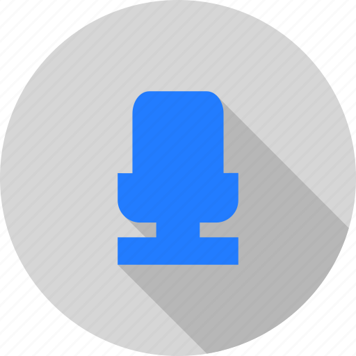 microphone, podcast, voice icon