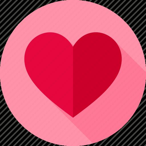 feeling, heart, love, romance, valentine icon