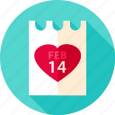 february, heart, holiday, love, poster, valentine icon