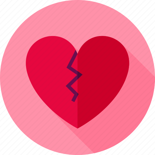 Broken, divorce, feeling, heart, love, single, valentine icon - Download on Iconfinder
