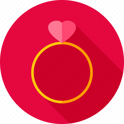 accessory, heart, love, proposal, ring, valentine, wedding icon