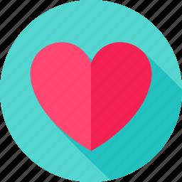 heart, love, romance, romantic, valentine, valentines, wedding icon