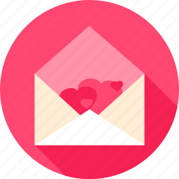 envelope, heart, letter, love, mail, message, valentine icon