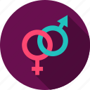 arrow, female, love, male, sex, sign, valentine icon