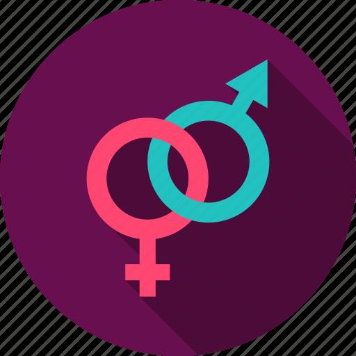 arrow, female, love, male, sex, sign, valentine icon