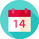 calendar, celebration, date, day, holiday, love, valentine icon