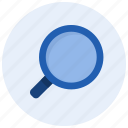 browse, find, glass, look for, magnifying, search, zoom icon
