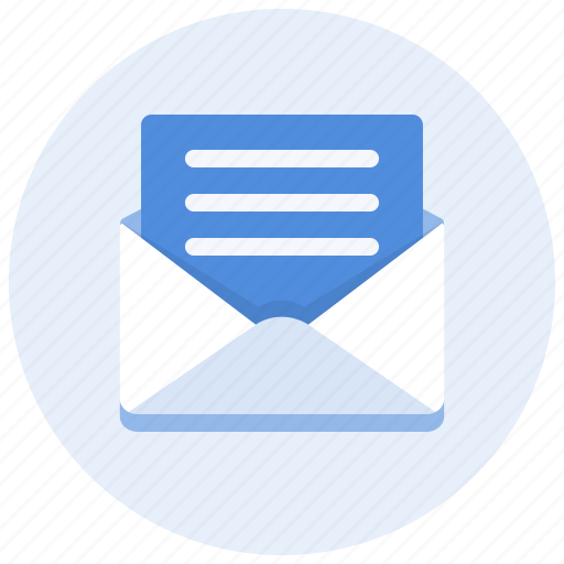 communication, content, email, envelope, mail, message, read icon