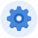 complex, configuration, gear, mechanic, preferences, settings icon