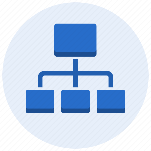 hierarchy, layout, organization, sitemap, structure icon