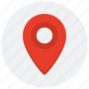 gps, location, map, marker, pointer, position icon