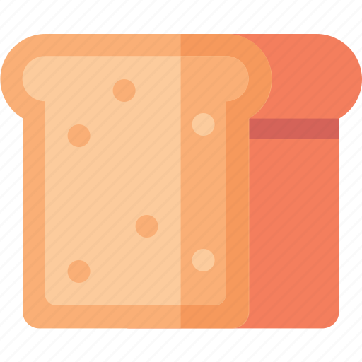 bread, cooking, food, toast icon