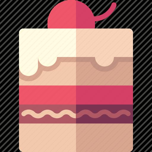 cake, chocolate, cream, food, sweet icon