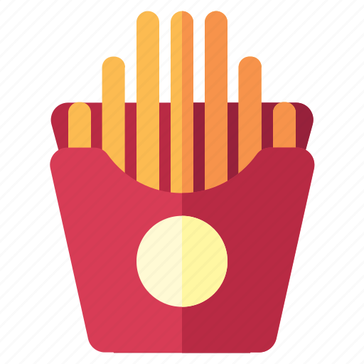 Fastfood, food, french, fries, tomato icon - Download on Iconfinder