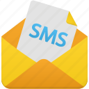 sms, mail, message, email, letter