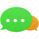 communication, bubble, chat, connection, message, talk