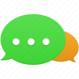 bubble, chat, communication, connection, message, talk icon