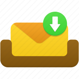 email, letter, mail, mailbox, message, receive icon