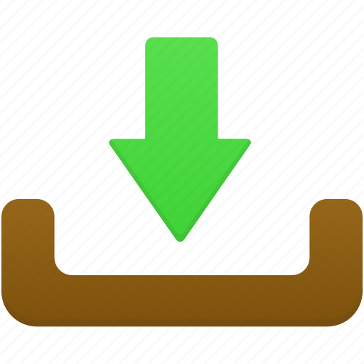 inbox, mailbox, message2, receive icon