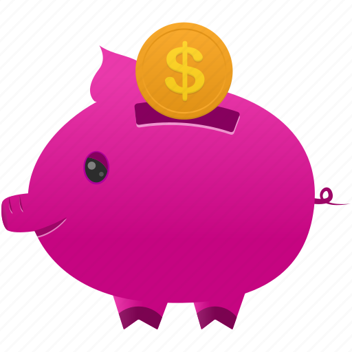 bank, cash, coin, currency, finance, money, piggy icon