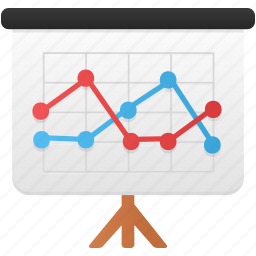 analytics, chart, diagram, finance, graph, presentation, report icon