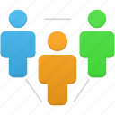 client, human, people, person, relationship, user, users icon