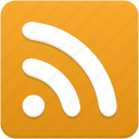 blog, feed, rss, subscribe icon