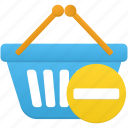 basket, business, buy, ecommerce, prohibit, shop, shopping icon
