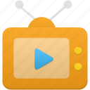 device, display, monitor, screen, television, tv icon