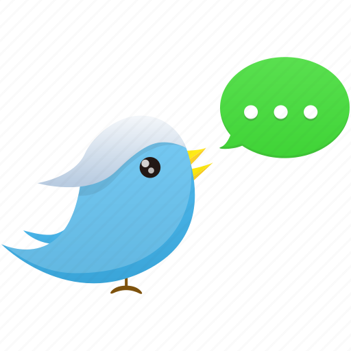 animal, bird, communication, media, social, tweet, twitter icon