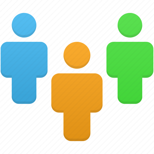 clients, group, human, people, person, user, users icon