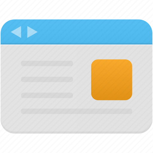 browser, internet, online, web, webpage, website icon