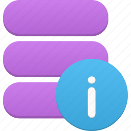 data, database, info, information, storage icon