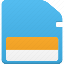 card, memory icon